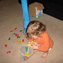playing child